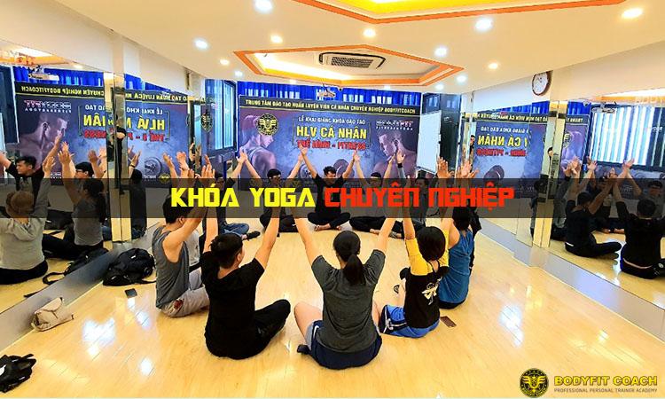 Đào Tạo HLV Yoga chuyên nghiệp